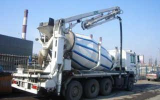 Доставка бетона миксером с насосом: виды, принципы работы и производители