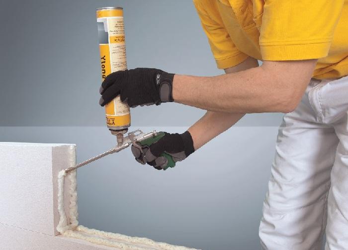Расход клей-пены для кладки газоблока