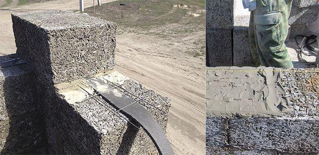 Применение армирования повышает прочность стен