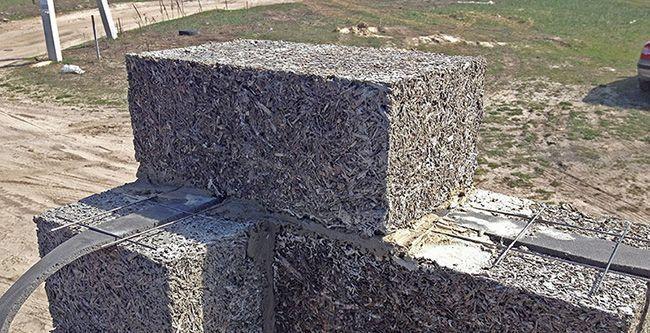 Армирование арболитовых стен не обязательно