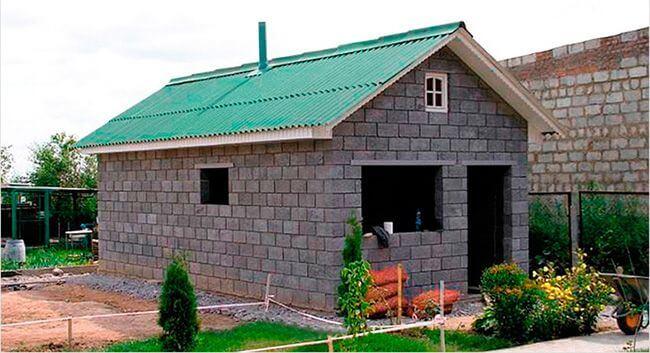 Керамзитобетонные блоки можно с успехом использовать при строительстве бани