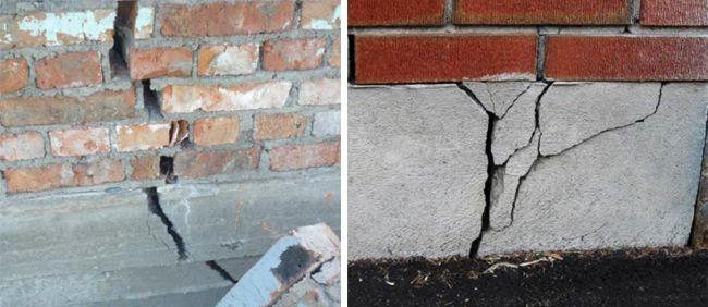 При установке монолитной конструкции есть риск повредить фундамент
