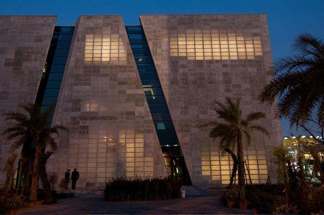 Дом из прозрачного бетона