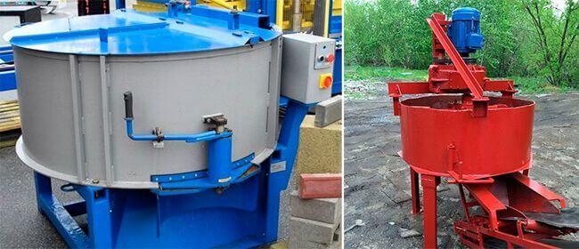 Для приготовления смеси применяются бетономешалки принудительного типа