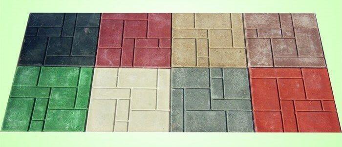 Цвета полимерной плитки