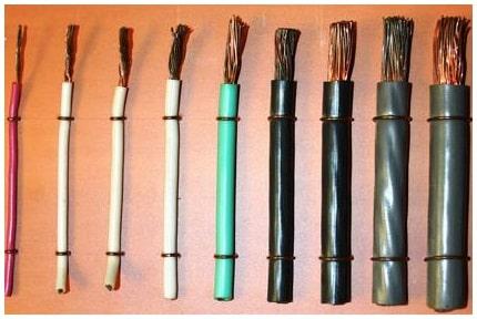 Расчет мощности электропотребления и подбор кабеля