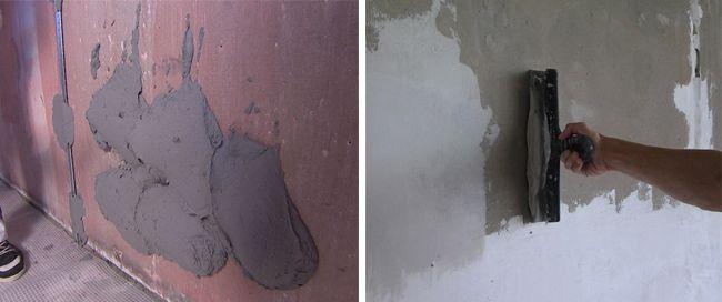 Цементные шпатлевки самые дешевые