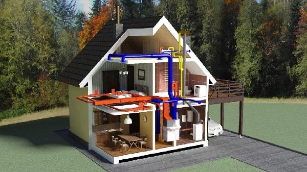 Можно ли оставлять газобетонный дом без отопления