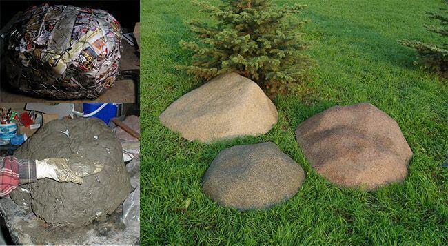 Изготовление камней