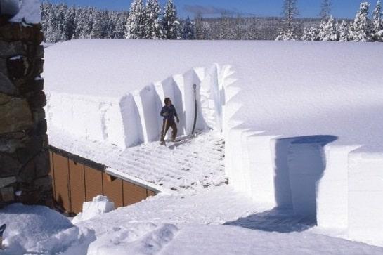 Как рассчитать снеговую нагрузку на дом