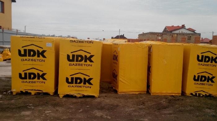 Как хранить газобетонные блоки зимой
