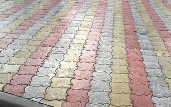 Плитка кленовый лист