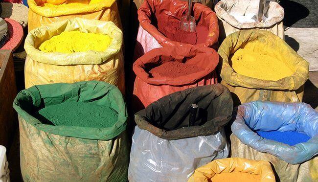 Красители позволят создать плитки разных цветов