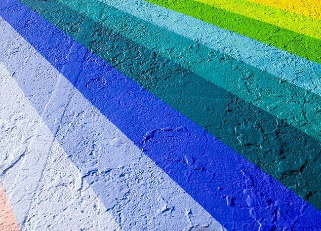 Краска на бетонной поверхности
