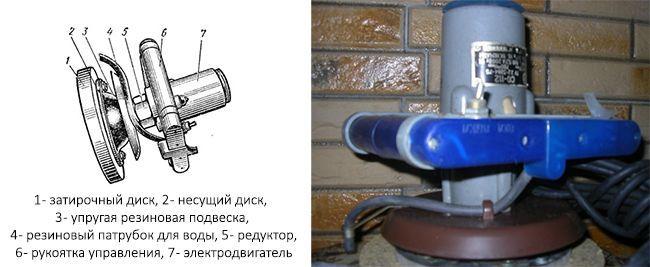Штукатурно-затирочная машина СО-112