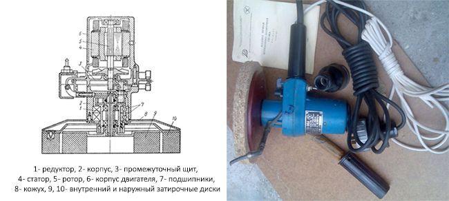Штукатурно-затирочная машина СО-86