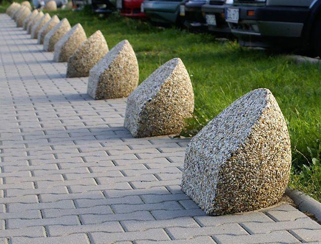 Изделия из промывного бетона