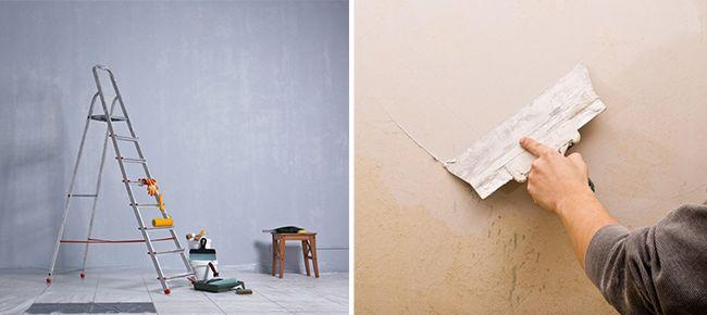 Нанесение шпатлевки является важным этапом подготовки стен