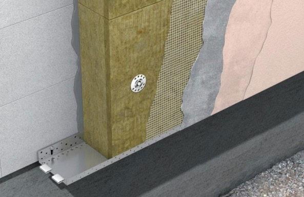Мокрый фасад утепленный минеральной ватой