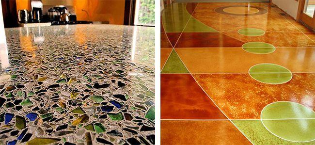 Любое тонкослойное мозаичное покрытие называется полом терраццо