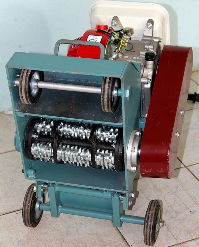 Однороторная фрезерная машина