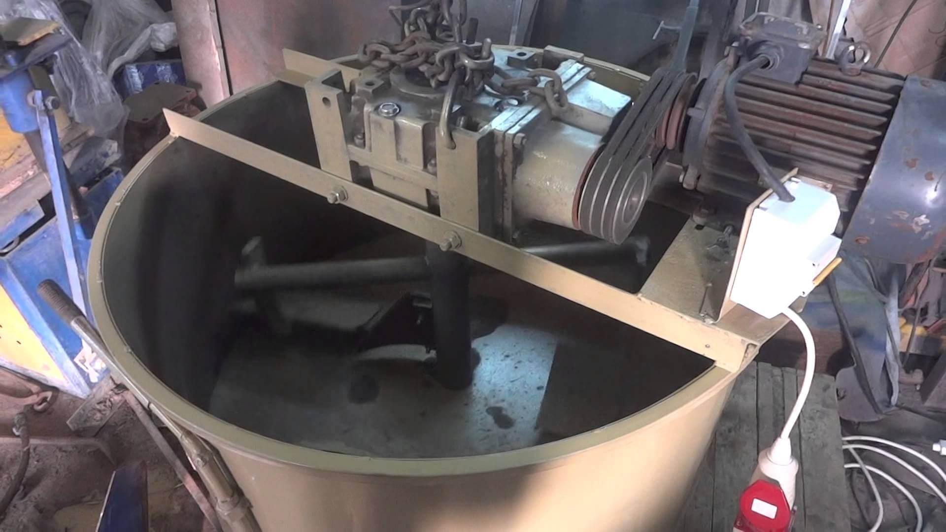 Электрический двигатель приводит лопасти в движение.