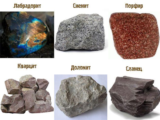 Другие камни для отделки