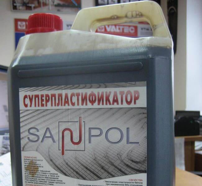 Суперпластификатор Sanpol