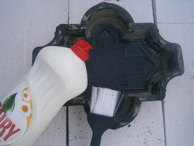 Моющее средство для смазки матрицы