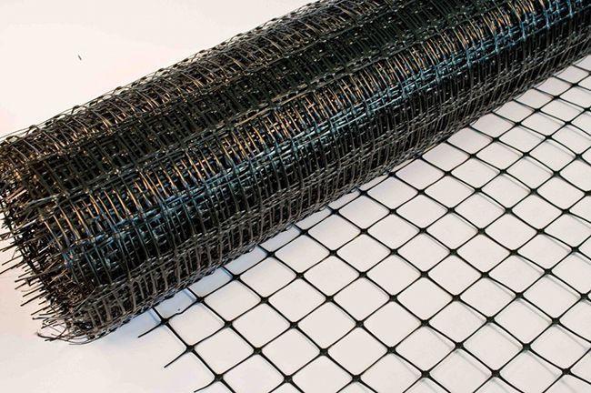 Пластиковая сетка для армирования стяжки