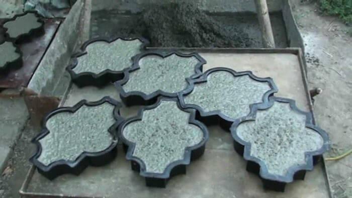 Плитка после обработки на вибростоле