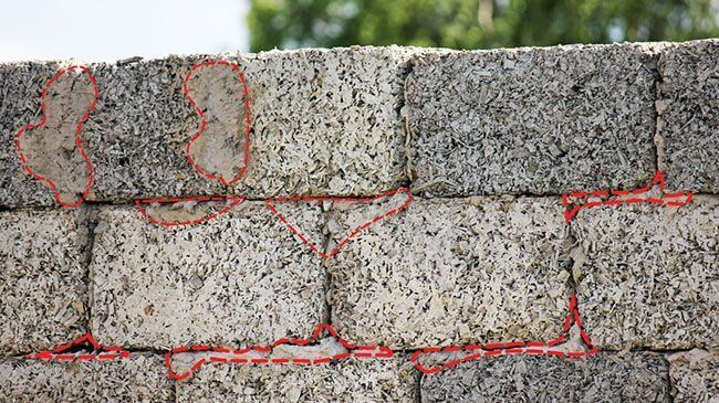 Несовершенство форм блоков