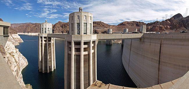 Для сооружения плотин применяют гидробетон