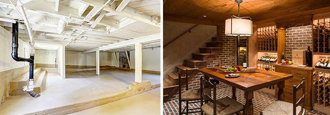 Сравнение подвала и цокольного этажа (полуподвала)