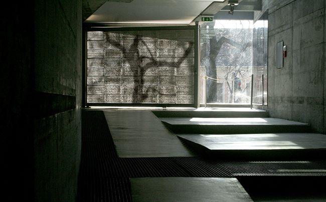 Пример использования прозрачного бетона