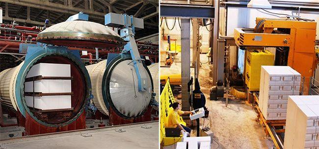 Оборудование для изготовления газосиликатных блоков