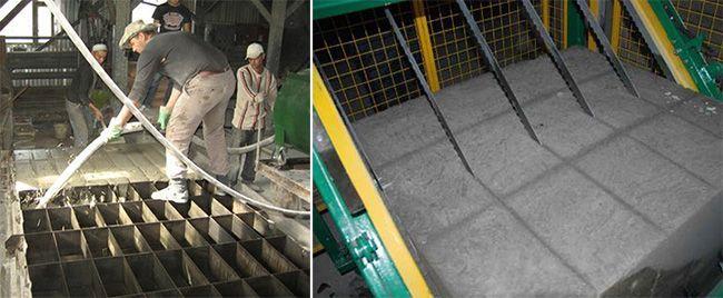 Оборудование для изготовления пенобетонных блоков