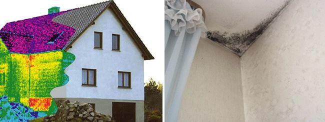 Промерзание угла дома является распространенной проблемой