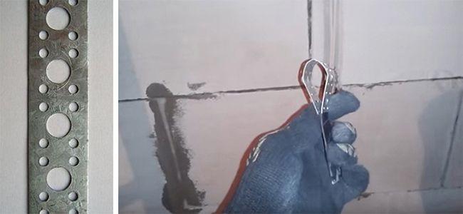 Штроборез из куска перфоленты