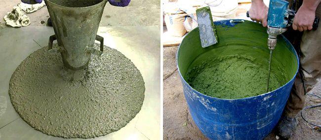 Цвет бетонной смеси не всегда говорит о его качестве