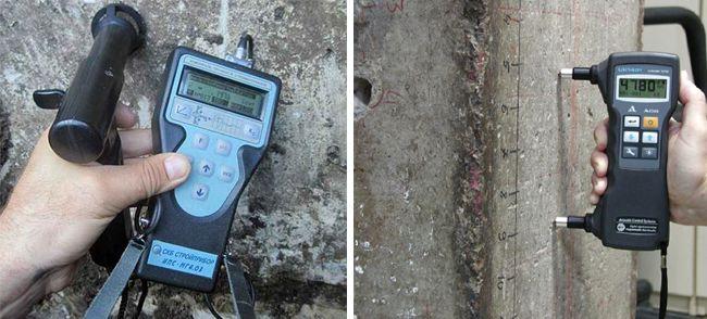 Ультразвуковой метод проверки бетона подходит не всегда