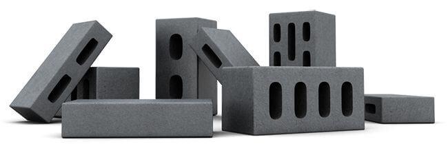 Полнотелые и пустотелые керамзитобетонные блоки