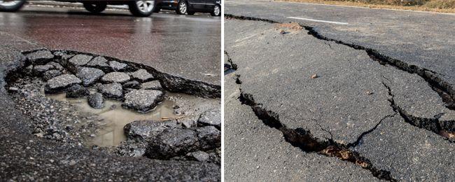 Разрушение асфальтобетона является основной проблемой наших дорог