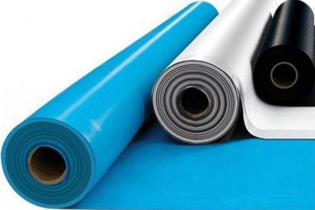 Рулонные материалы с успехом применяются для гидроизоляции бассейна
