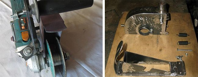 Для изготовления штробореза понадобится новый рабочий вал с длинной резьбой
