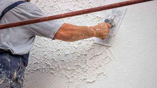 Самостоятельное оштукатуривание бетонных стен