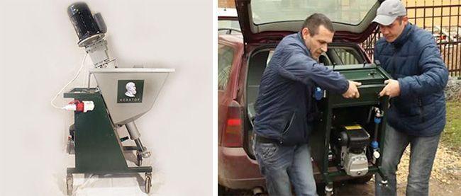 Новатор легко помещается в багажнике легковой машины