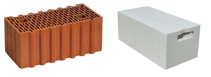 Сравнение газобетона и теплой керамики