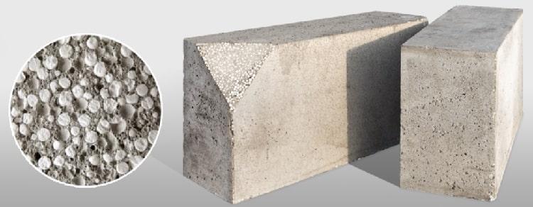Блок из полистиролбетона