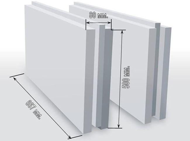 ПГП легко монтировать ввиду стандартных размеров